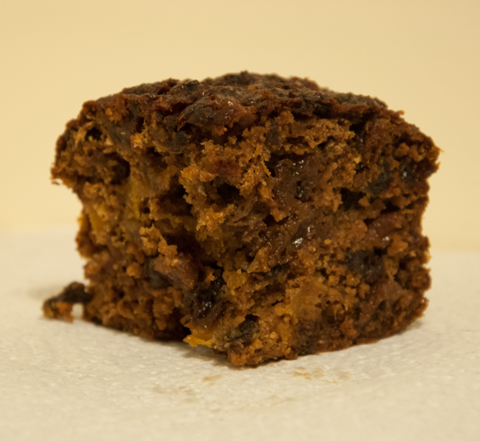 Christmas cake doesn't have to be high-fat