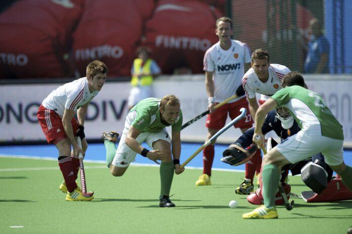 England faced Ireland at last summer's EuroHockey Championships - credit Frank Uijlenbroek - England Hockey.jpg