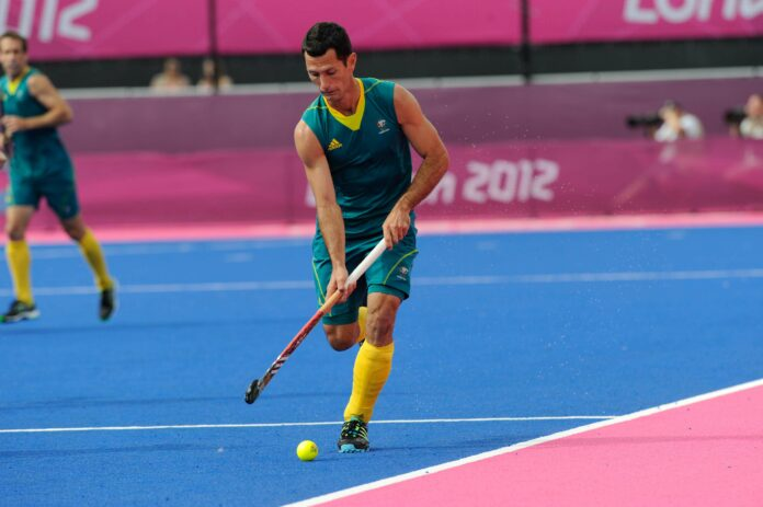 Fourth World Cup - Australia's Jamie Dwyer (c) hockeyimages.co.uk