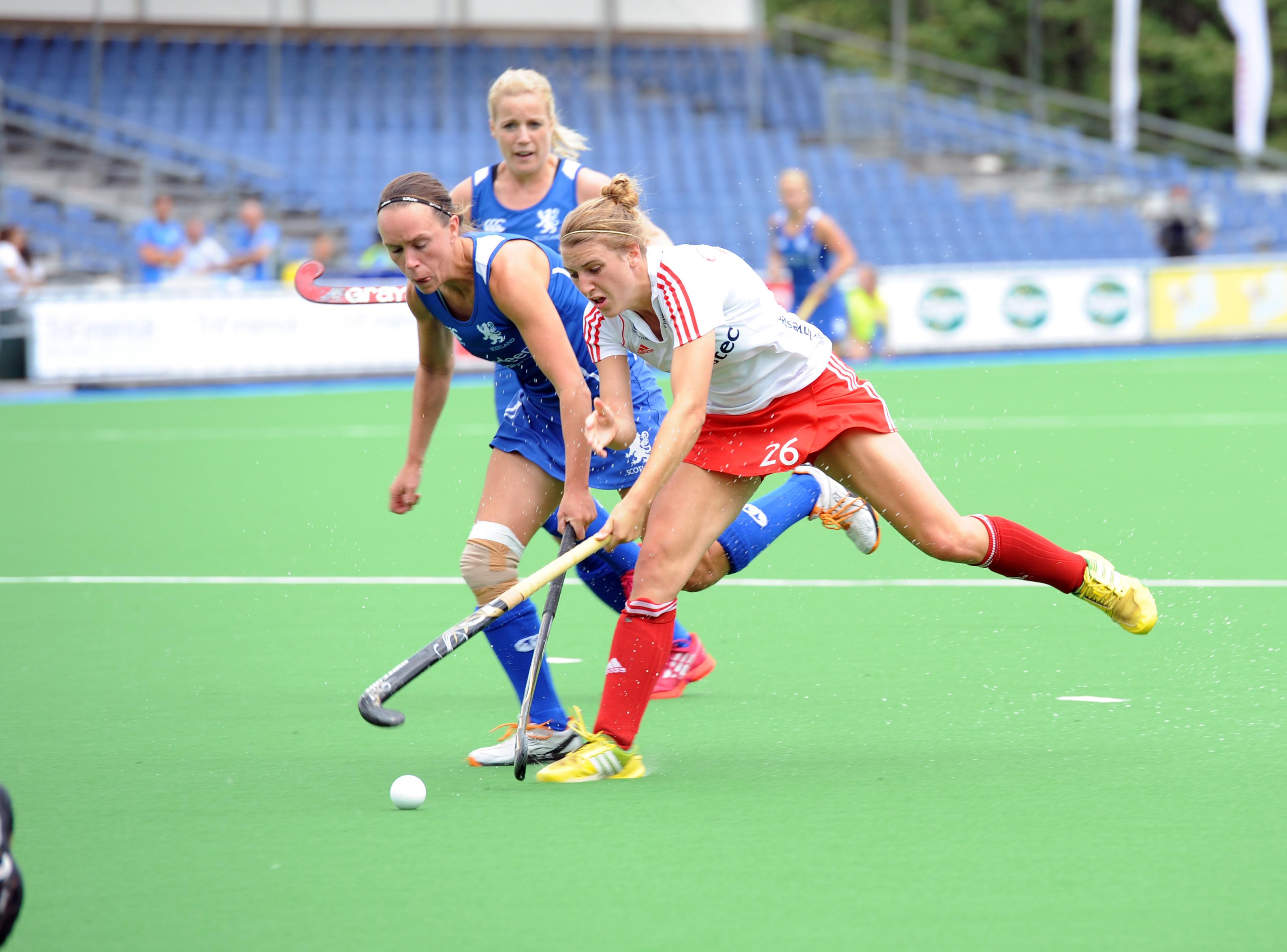 England vs Scotland at the 2013 Euros (c) hockeyimages.co.uk
