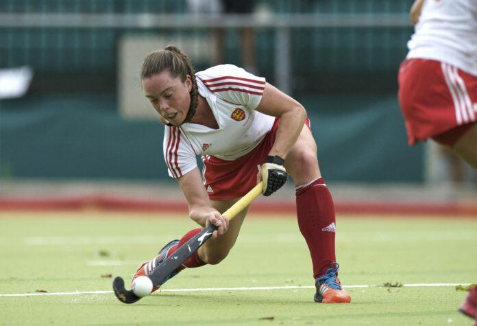 England v Russia, scorer Grace Balsdon, July 20 2014 - credit Frank Uijlenbroek.jpg
