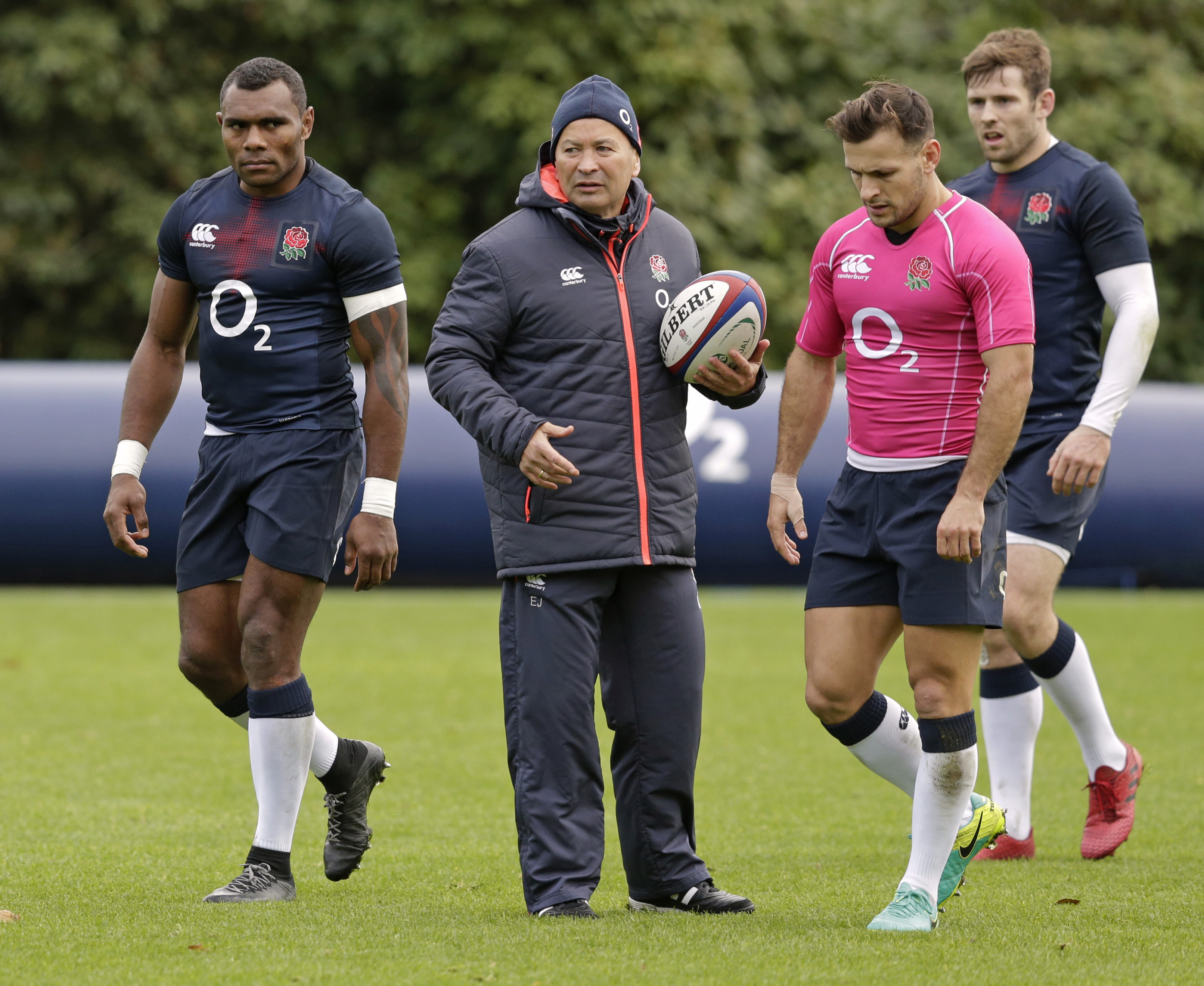 Master at work: Eddie Jones invited Kerry to Twickenham