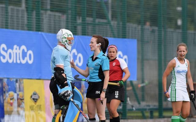 Umpire's voice in danger of losing out to player-centric hockey